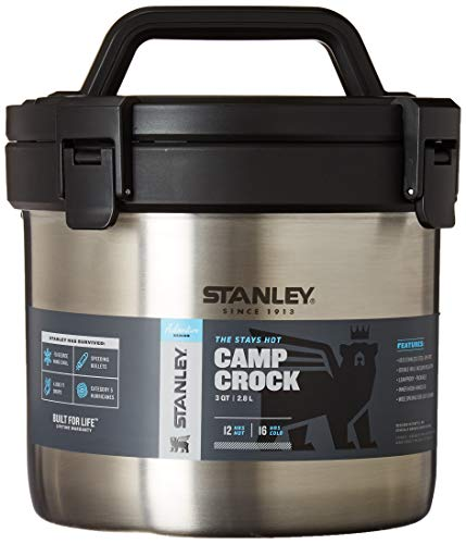 Stanley Adventure Stay Hot 3QT Camp Crock - Vacuum Insulated Stainless Steel Pot