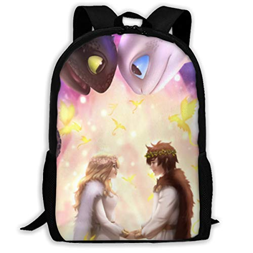 How To Train Your Dragon School Backpack Lunch Bag Set School Bag Boys Girls Bookbag