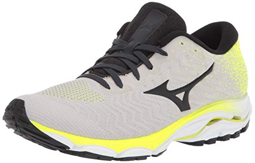 Mizuno Men's Inspire 16 WAVEKNIT Running Shoe, Nimbus Cloud-Phantom, 12