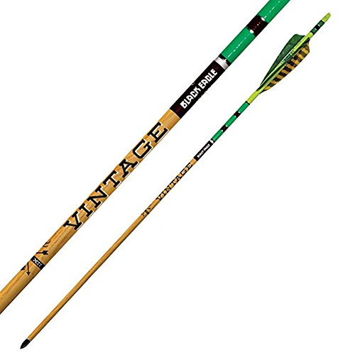 Black Eagle Executioner Crossbow Fletched Arrows/Bolts (6 Pack, 16'/.001)