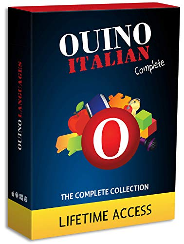 Learn Italian with OUINO: New Improved Edition v4 | Lifetime Access (for PC, Mac, iOS, Android, Chromebook)