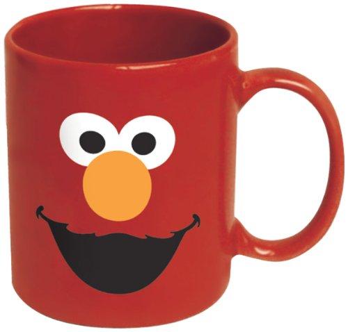 ICUP Elmo Big Face Ceramic Mug