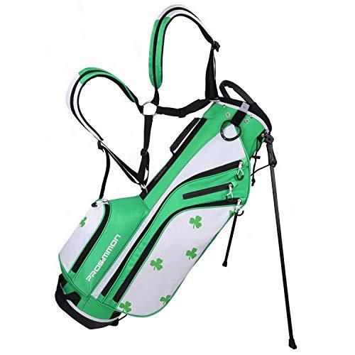 PROSiMMON Golf DRK 7' Lightweight Golf Stand Bag with Dual Straps Irish