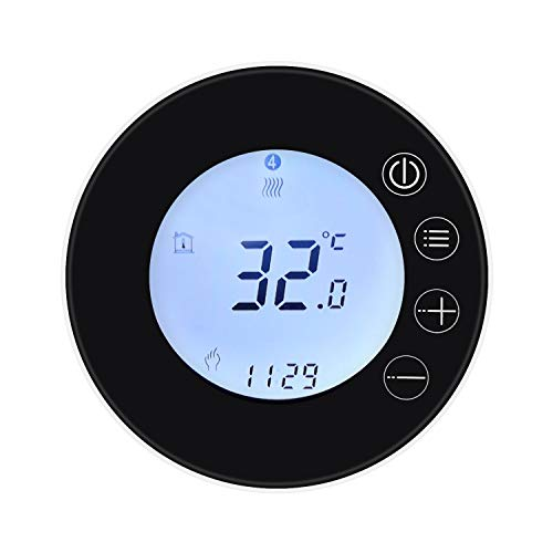 Roeam Smart Thermostat, WiFi LCD Display Intelligent Thermostat Programmable Temperature Controller APP Remote Control Compatible with Alexa Google Home Voice Control