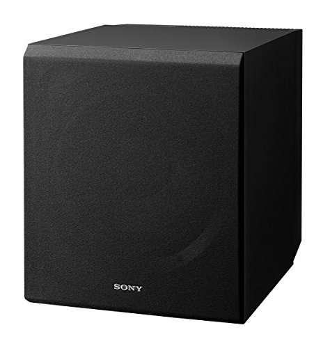 Sony SACS9 10-Inch Active Subwoofer,Black