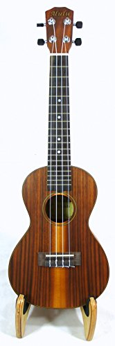Alulu Laminated Acacia Koa Concert Ukulele, Satin Finish, Install Aquila String, Including One Soft Bag