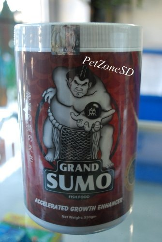 Grand Sumo Accelerated Growth Enhancer - Flowerhorn Cichlid Fish Food 550g