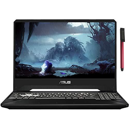ASUS TUF 15.6' FHD 144Hz 5ms Gaming Laptop Computer, Intel Hexa-Core i7-9750H up to 4.5GHz, 8GB DDR4 RAM, 512GB PCIe SSD, NVIDIA GeForce GTX 1650, RGB Backlit KB, Windows 10, BROAGE 64GB Flash Drive