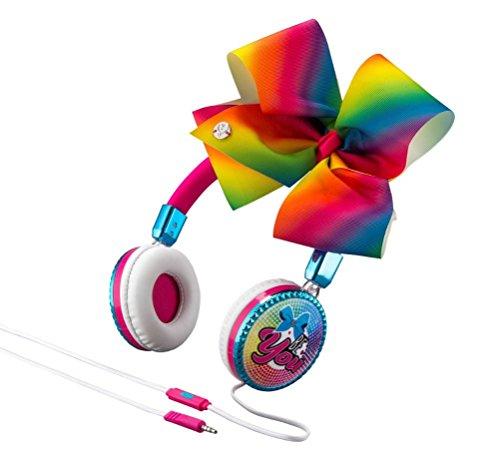 eKids JoJo Siwa Bow Fashion Headphones with Microphone (Frustration Free Packaging) (M48)