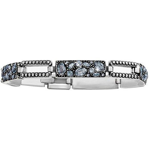 Brighton Trust Your Journey Blue Swarovski Crystal Bracelet