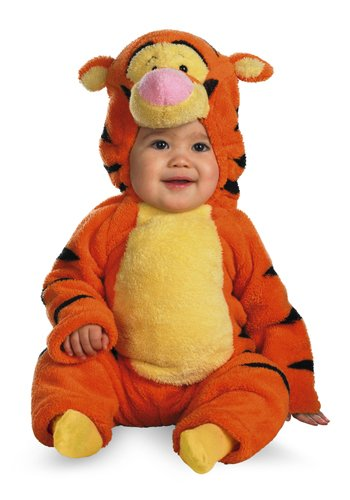 Tigger Deluxe Two-Sided Plush Jumpsuit Costume (12-18 months)