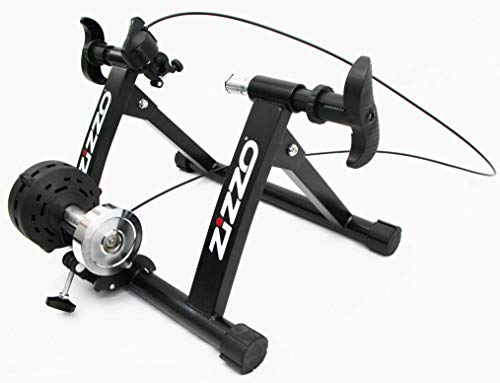 ZiZZO Folding Bicycle Indoor Trainer with Front Wheel Riser Block - FITS 20-INCH Wheel Bikes ONLY