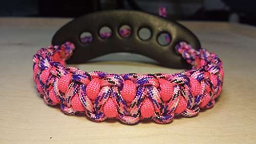Muddy River Gear Archery Bow Wrist Sling Country Girl and Pink Caged