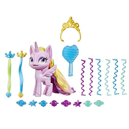My Little Pony Best Hair Day Princess Cadance -- 5-Inch Hair-Styling Pony Figure with 17 Hair Play Accessories, Ages 4 and Up