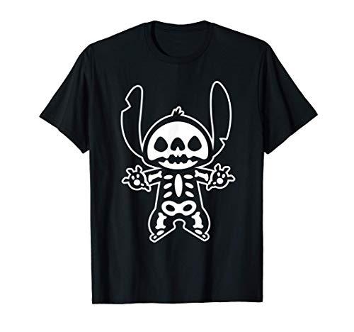 Disney Stitch Halloween Skeleton T-Shirt