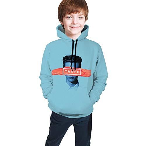 Troye Sivan Tryxe Hoodies Girls Stylish Long Sleeve Sweater Teen Pullover T-Shirt Black