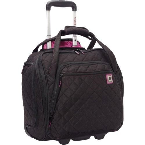 DELSEY Paris Rolling Under Seat Tote Bag, Black, One Size
