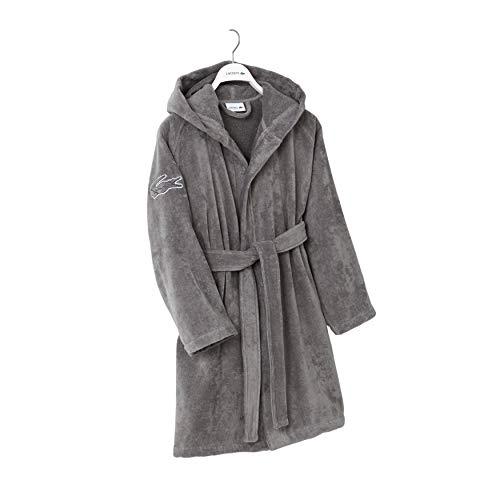 Lacoste Fairplay Robe, 100% Cotton, 34'L, Meteorite