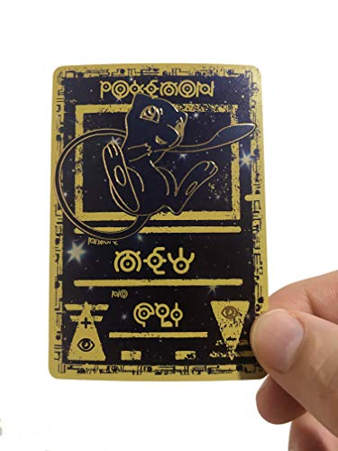 Ancient Mew Custom Holographic Pokemon Card