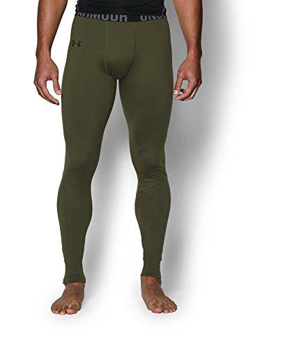Under Armour Men's UA ColdGear Infrared Evo CG Legging, Greenhead, SM X 34