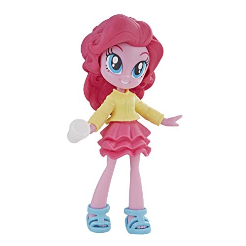 My Little Pony Equestria Girls Fashion Squad Pinkie Pie 3' Mini Doll with Removable Outfit, Shoes & Accessory, for Girls 5+