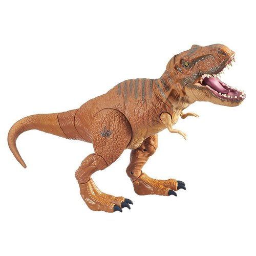 Jurassic World, Stomp and Strike Tyrannosaurus Rex T- Rex Action Figure