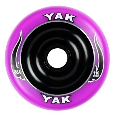 Yak Scooter Wheel Scat II Full Metal Core Purple/Black 110mm