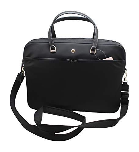 Kate Spade New York Jae Nylon Laptop Shoulder Bag Handbag in Black, Medium