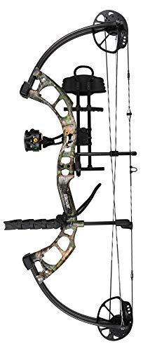 Bear Archery Cruzer Lite RTH RH 5-45# Compound Bows, Realtree Xtra Green, 12-27'