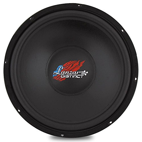 High-Powered Free Air Subwoofer - Infinite Baffle (IB) Sub Sound Drive Unit, Recommended for 'Open Air' and Sealed Enclosure Speaker, Power Handling: 400 Watt PEAK / 200 Watt RMS - Lanzar DCTOA154