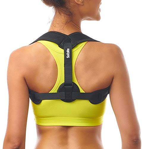 Posture Corrector for Women Men - Posture Brace - Adjustable Back Straightener - Discreet Back Brace for Upper Back Pain Relief - Comfortable Posture Trainer for Spinal Alignment (25' - 53')
