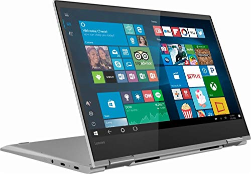 Lenovo Yoga 730 2-in-1 13.3' FHD IPS Touchscreen Business Laptop/Tabelt, Intel Quad-Core i5-8250U 8GB DDR4 256GB PCIe SSD Thunderbolt Fingerprint Reader Windows Ink Backlit Keyboard Win 10