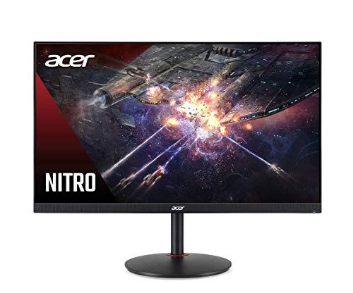 Acer Nitro XV272U Pbmiiprzx 27' WQHD (2560 x 1440) IPS G-SYNC Compatible Monitor, 144Hz, 1ms VRB, VESA Certified DisplayHDR400, DCI-P3, Delta E