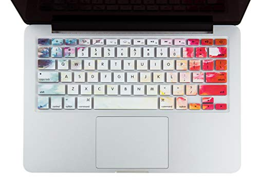 KECC Keyboard Cover Skin Compatible with MacBook Air 13', Old Pro 13', 15', 17' (w/or w/Out Retina Display, -2015) and iMac (Fantasy)