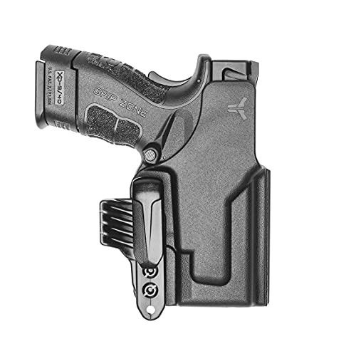 Blade-Tech Ultimate Klipt Holster - IWB Ambidextrous Holster for Glock, Sig, Springfield, and More (Springfield/XD Mod.2 3' 9/40)