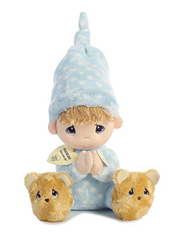 Aurora World Precious Moments Prayer Boy with Sound Now I Lay Me Down to Sleep Plush
