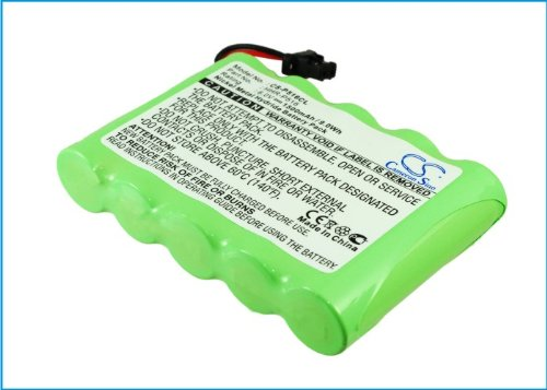 Replacement Battery for Panasonic KX-TG4500, KXTG4500B HHR-P516, HHR-P516A, HHR-P516A-1H, Type 34