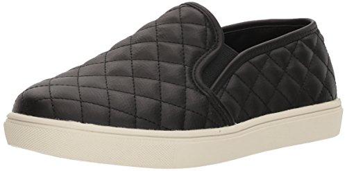 Steve Madden Women's Ecentrcq Slip-On Fashion Sneaker,Black,8.5 M US