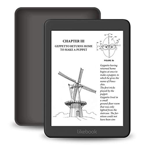 """Likebook Mars E-Reader, 7.8""""HD Display 300PPI, Warm/Cold Light,Android 8.1, Support WiFi, Bluetooth Data Transfer, 2G+16GB"""