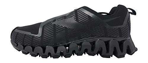 Reebok Men's ZigWild Tr 6 Running Shoes, 12 US, Black/Cold Grey 7/White
