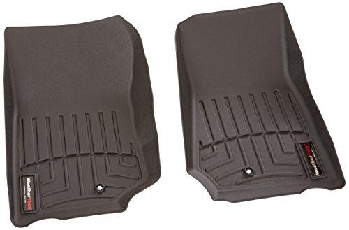 WeatherTech Custom Fit Front FloorLiner for 2007-2013 Jeep Wrangler/Wrangler Unlimited (Black)