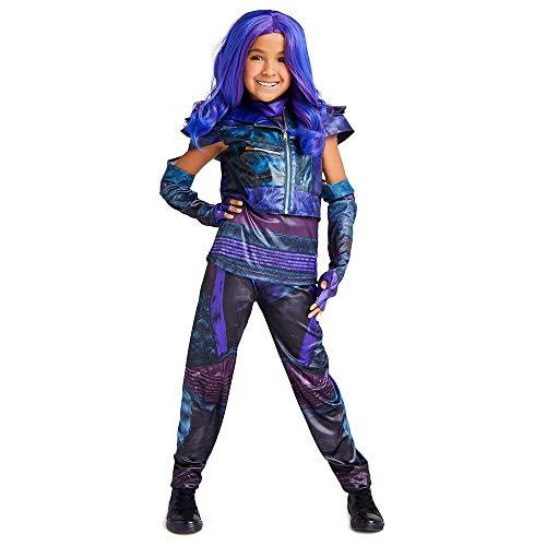 Disney Mal Costume for Kids - Descendants 3 Size 7/8 Purple