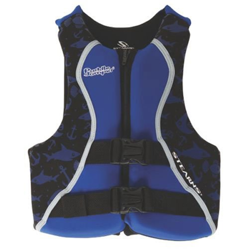 STEARNS Puddle Jumper Youth Hydroprene Life Jacket, Blue