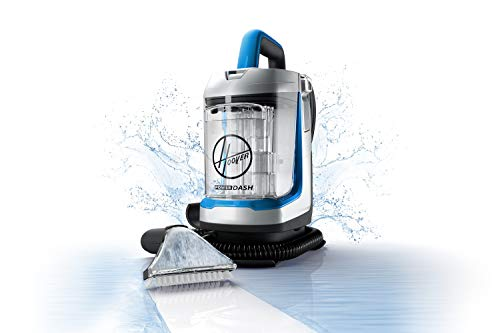 Hoover PowerDash GO Portable Spot Cleaner, Lightweight Carpet and Upholstery Machine, Stain Remover for Pets Stairs and Home, FH13010PC, Blue
