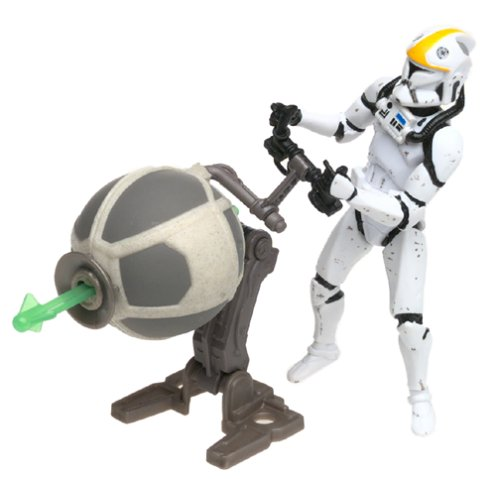Clone Trooper Republic Gunship Pilot Star Wars Attack of the Clones 3.75' Action Figure