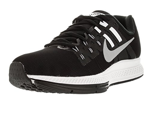 Nike Women's WMNS Air Zoom Structure 19 Flash, Black/Reflective Silver-Cool Grey-Pure Platinum, 6.5 M US