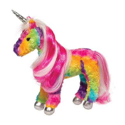 Douglas Joy Rainbow Princess Unicorn Plush Stuffed Animal