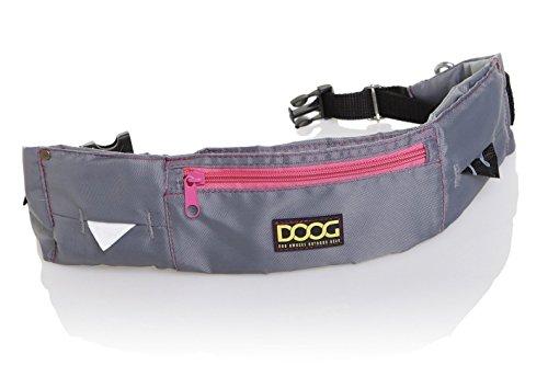 DOOG - Walkie Belt - Grey with Pink (Neon) (WB17)