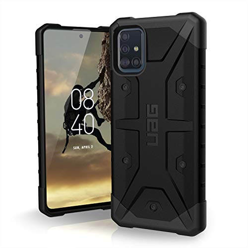 URBAN ARMOR GEAR UAG Designed for Samsung Galaxy A51 4G Case Pathfinder [Black] Rugged Shockproof Military Drop Tested Protective Cover