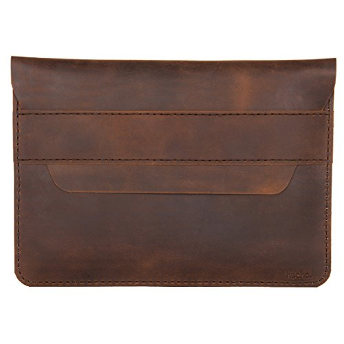 hecho. Handmade Leather Sleeve Fernando Compatible with MacBook Pro 13' (M1 & 2016, 2017, 2018, 2019, 2020) & MacBook Air 13' (M1 & Retina 2018, 2019 & 2020) Leather (Cover, Bag, Case)